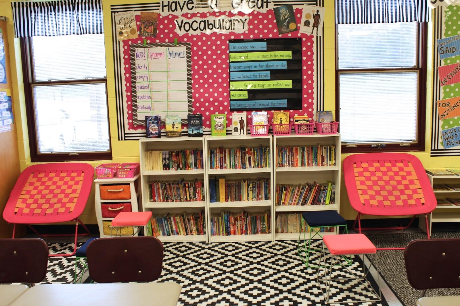 Classroom Decorating Update