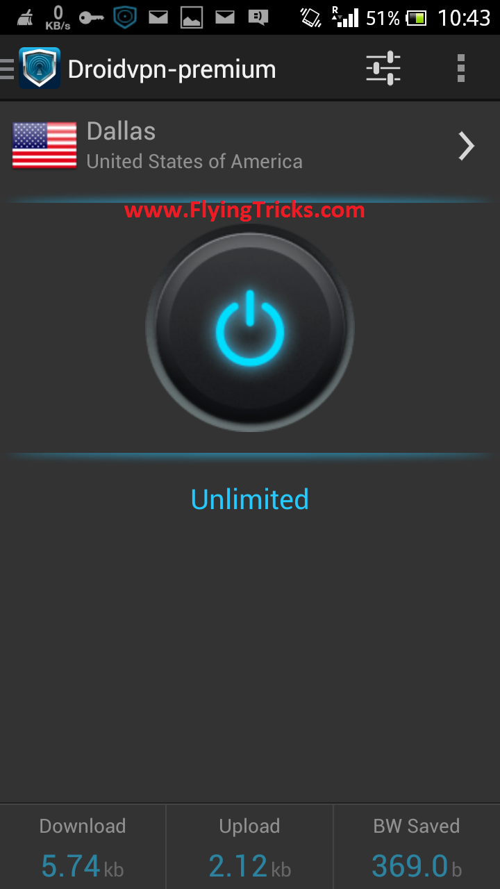 Droid VPN Premium Cracked ApK 2015 | ::: Welcome to Flying Tricks :::