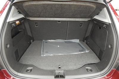 Interior Bagasi Chevrolet Trax