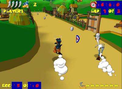 鴕鳥快跑(Ostrich Runners),很特別的跑酷遊戲!
