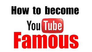 How to get famous on YouTube 2018