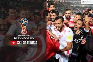Skuad Susunan Pemain Tunisia di Piala Dunia 2018