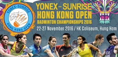 Yonex Sunrise Hong Kong Open 2016 Super Series