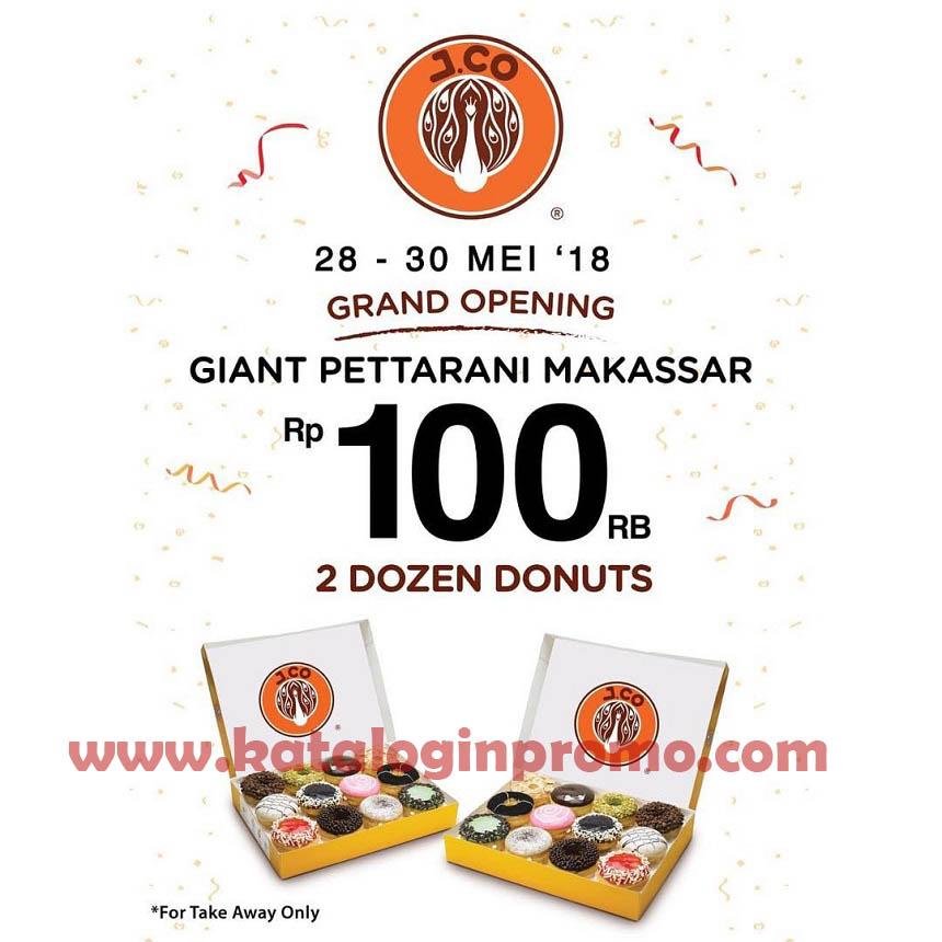 Promo Jco Donuts And Coffee 28 – 30 Mei 2018 Di Giant Pettarani Makassar