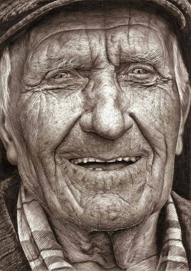 A 16 Year Old Girl, Armed With A Pencil, Entered A Competition. The Result Blew My Mind. - She drew Coleman by hand, using only pencil.