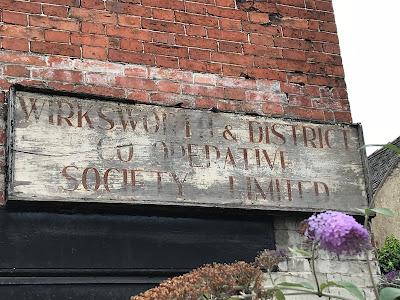Ghost sign, Wirksworth, Derbyshire