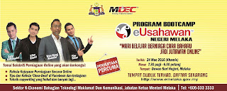 Program Bootcamp eUsahawan Negeri Melaka