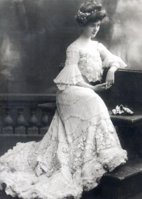 vestido de noiva 1920