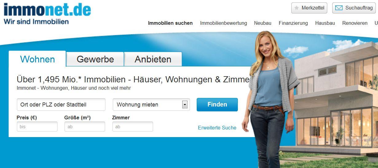 Wohnungen und Häuser bei Immonet.de finden | ERDBEERCHENS ...  Wohnungen und H...