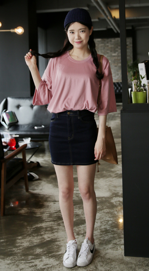 Basic 3/4 Loose T-Shirt