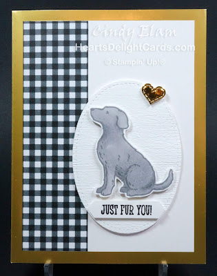 Heart's Delight Cards, Happy Tails, Dog Builder Punch, Dog, Occasions 2019, Sneak Peek Occasions 2019, Stampin' Up!