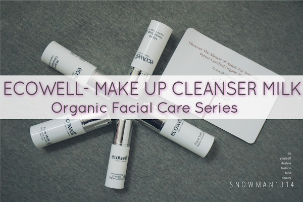 [Review] Anti-aging Ecowell Facial Care Essentials - Make-Up Cleanser Milk