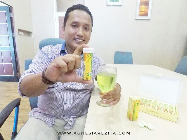 Langsing dan Awet Muda dengan K-Vit C Plus Teavigo