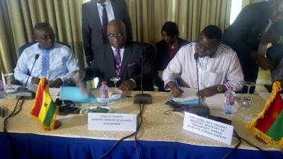 GHANA - BURKINA JOINT COMMITTEE OF EXPERTS MEETING ON THE RAILWAY INTER-CONNECTIVITY PROJECT