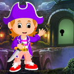 Games4King Pirate Girl Escape