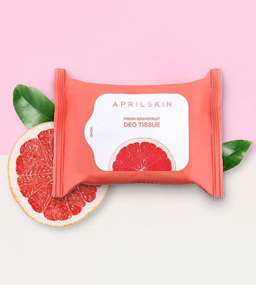 Fresh Grapefruit Deo Tissue