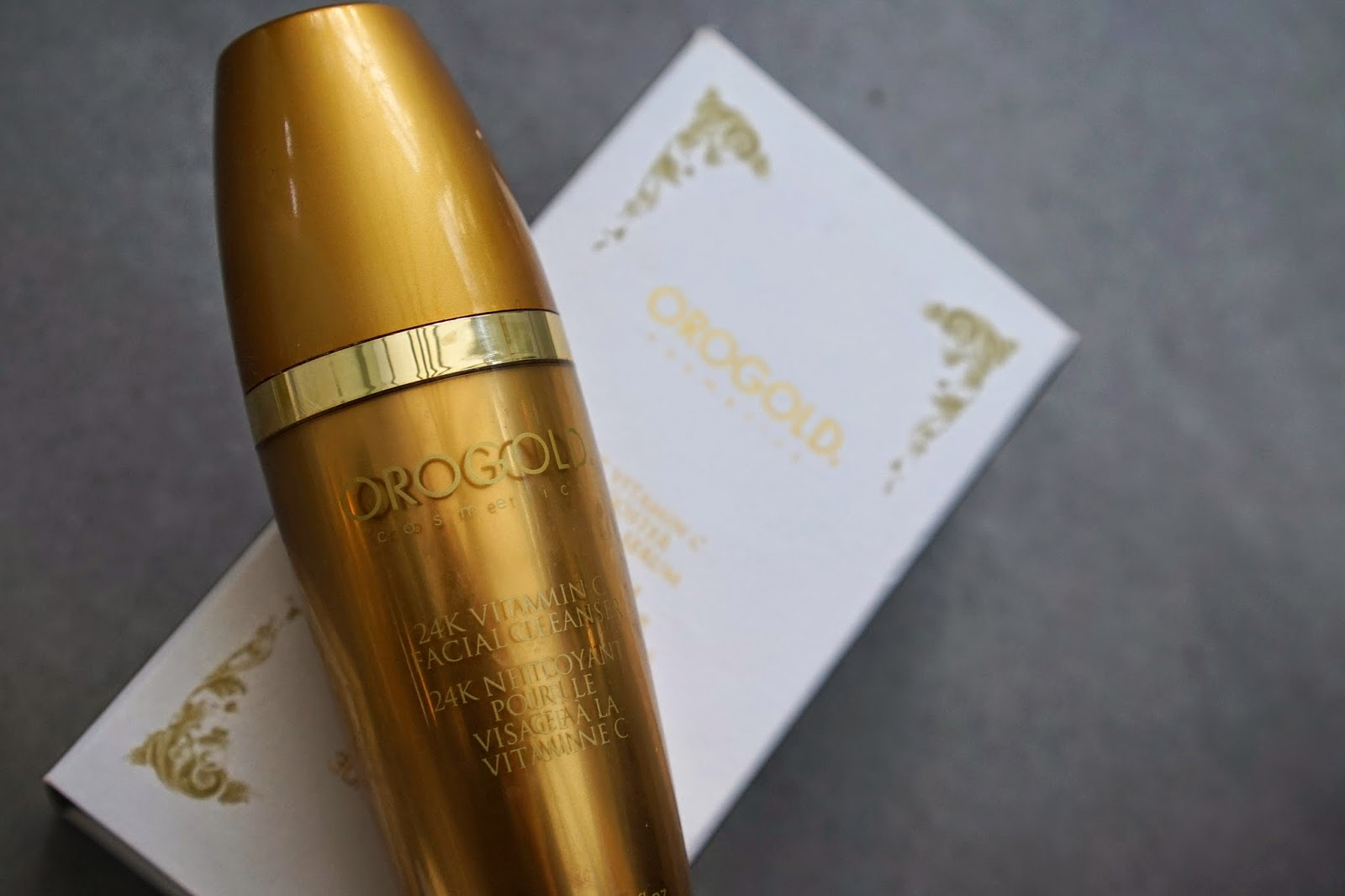24k vitamin c facial cleanser orogold
