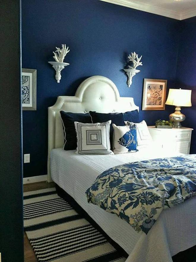 Dari Pemerhatian Fiza Warna Navy Blue Ni Sangat Sesuai Di Gabungkan Dengan Hiasan Dan Perabot Putih Ataupun Beige Satu Gelap