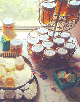 honey display