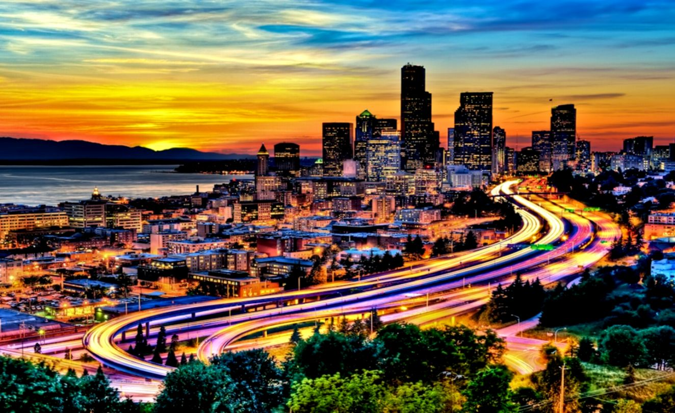 Seattle Wallpaper Wallpapers Sigi