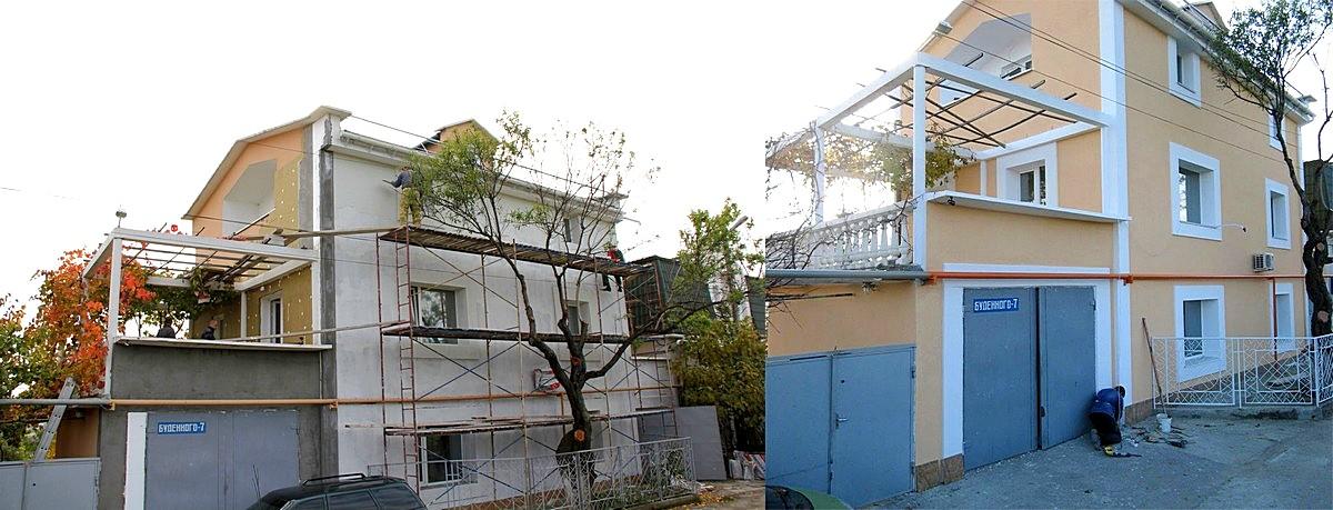 Утепление стен снаружи цена Севастополь