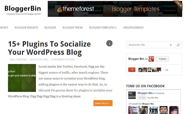 blogger bin