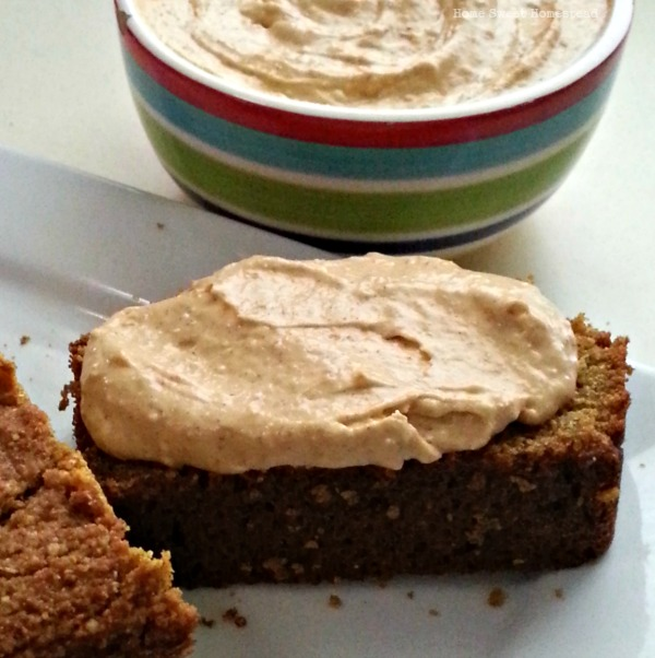 Pumpkin Bread with Pumpkin Cream Cheese