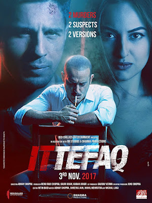 Ittefaq 2017 Hindi 720p DVDRip 800Mb x264