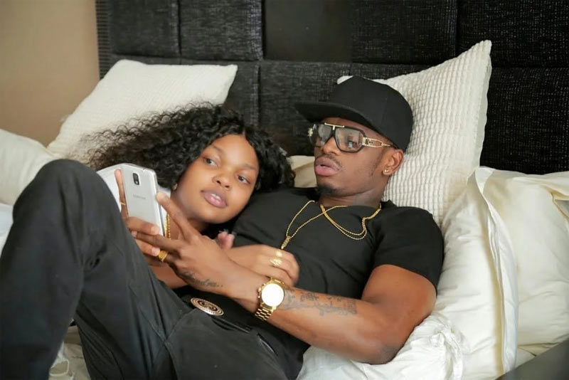 Diamond Platnumz summoned by police after ex-girlfriend is arrested for drug dealing