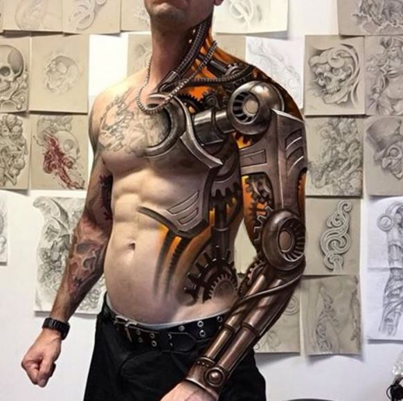 155 Best 3d Tattoos Designs For Men Women 2018 Tattoosboygirl