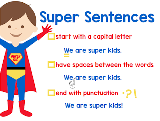 Kindergarten anchor charts that are ready to print and use. Print this anchor chart for individual or small group use or print a poster of this anchor chart at Vista Print. You will use this super sentences anchor chart again and again. Click to check out more $1 anchor charts.