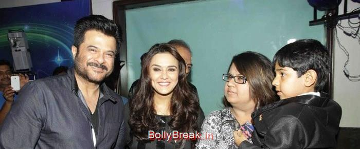 Anil Kapoor, Preity Zinta, Pooja Dhingra, Hot HD Images of Priety Zinta at Aakash Dingra's 7th Birthday Bash