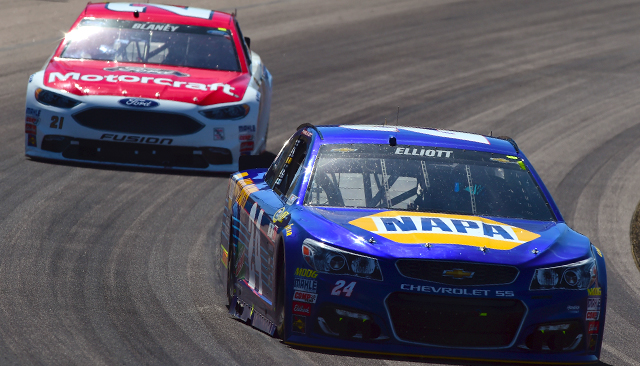 Chase Elliott and Ryan Blaney have impressed so far in their young careers.