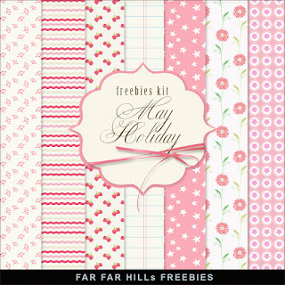 Freebies Kit of Backgrounds - May Holiday