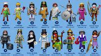 Propuesta de mujeres para la historia de Playmobil