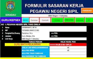 Aplikasi SKP Guru dan Kepala Sekolah 2016 (download)
