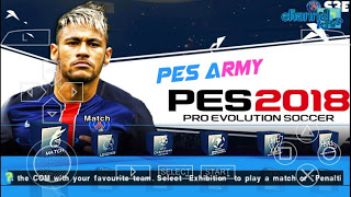 PES Army 2018/2019 PPSSPP ISO