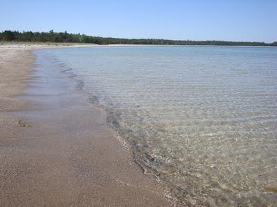Alliklepa beach Estonia