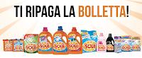 Logo Festa del Sole Il Pulito che ti aspetta ti ripaga la bolletta con ricariche telefoniche da 10€
