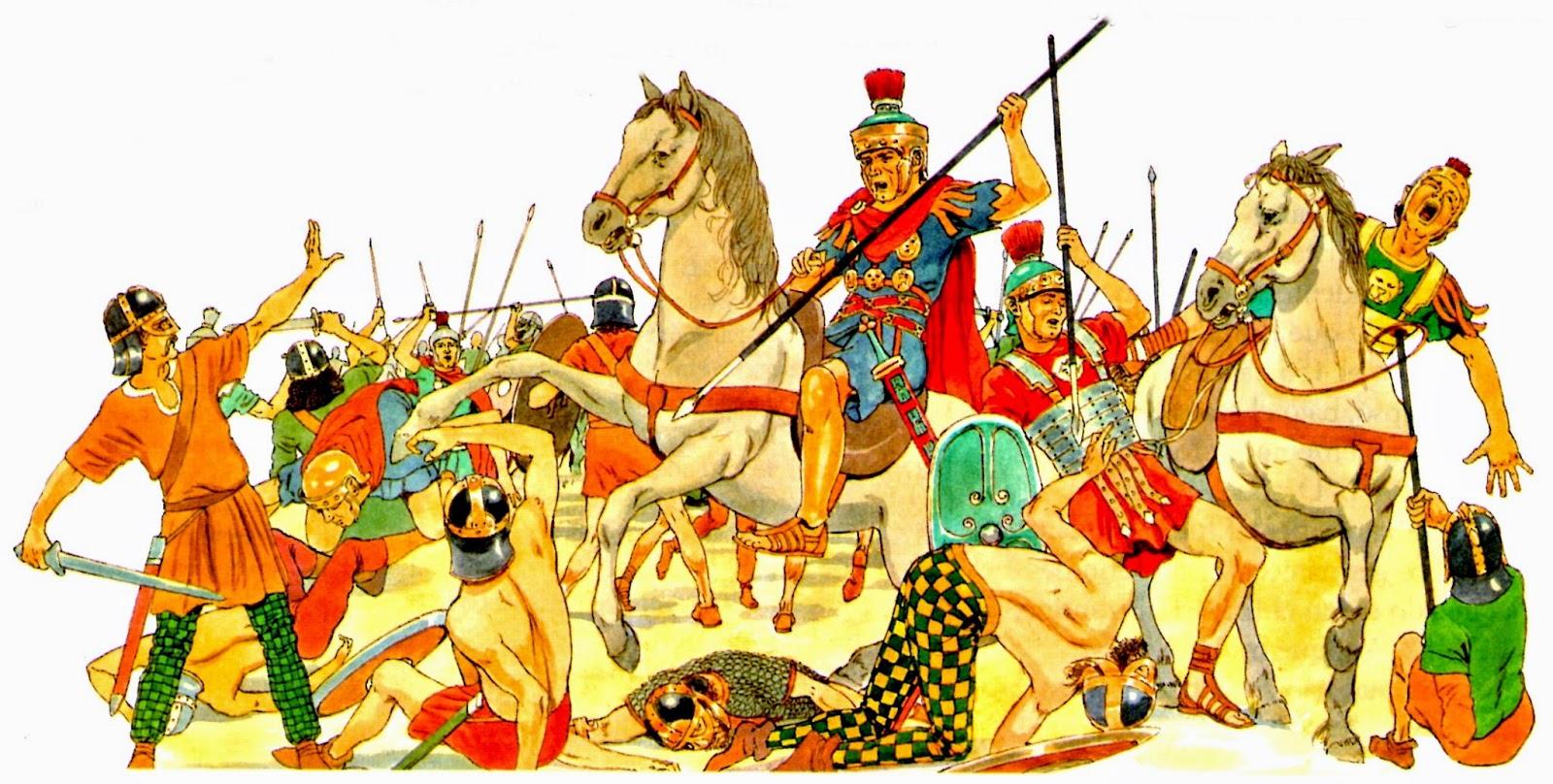 Los Bárbaros Años 1 D.C.