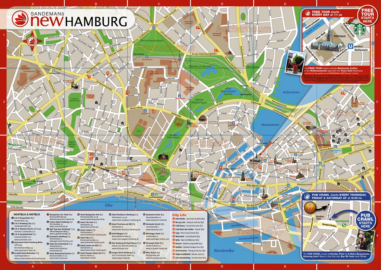 panoramic view over the hamburg harbour from empire riverside hotel 4. Black Bedroom Furniture Sets. Home Design Ideas