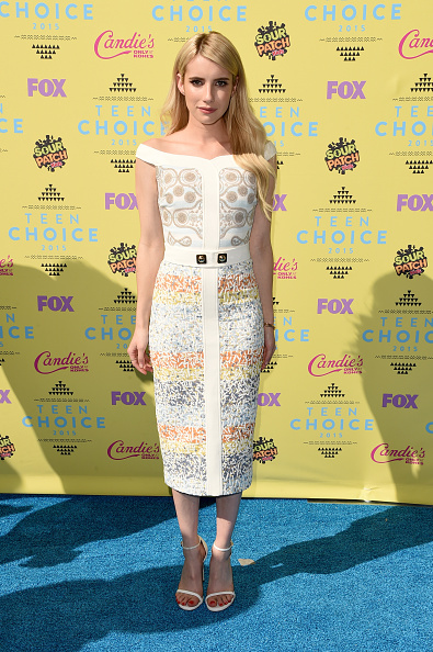 Emma Roberts Dress at Teen Choice Awards
