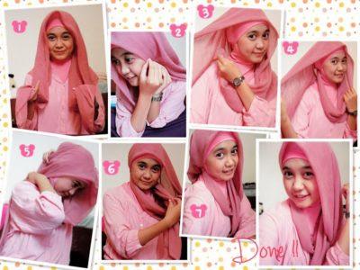 Tips Memilih Model Hijab Yang Cocok Untuk Hidung Pesek