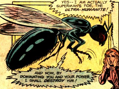 Image result for The Ultra-Humanite, now in the body of a giant ant