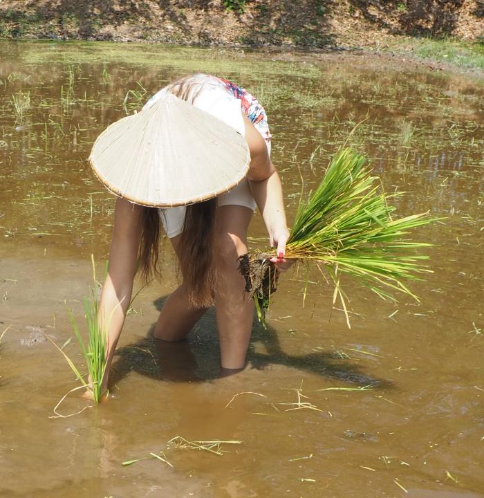 Traumatyczny masaż stóp w Tajlandii