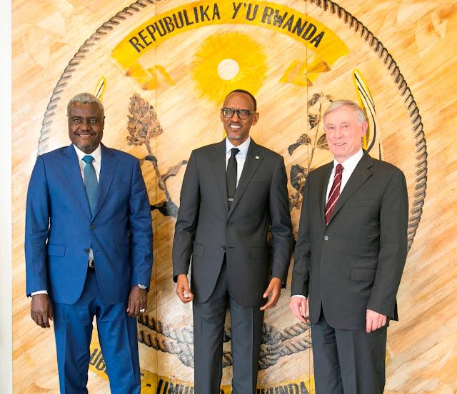 رئيس مفوضية الاتحاد الافريقي قريبا في زيارة عمل الى الجمهورية الصحراوية