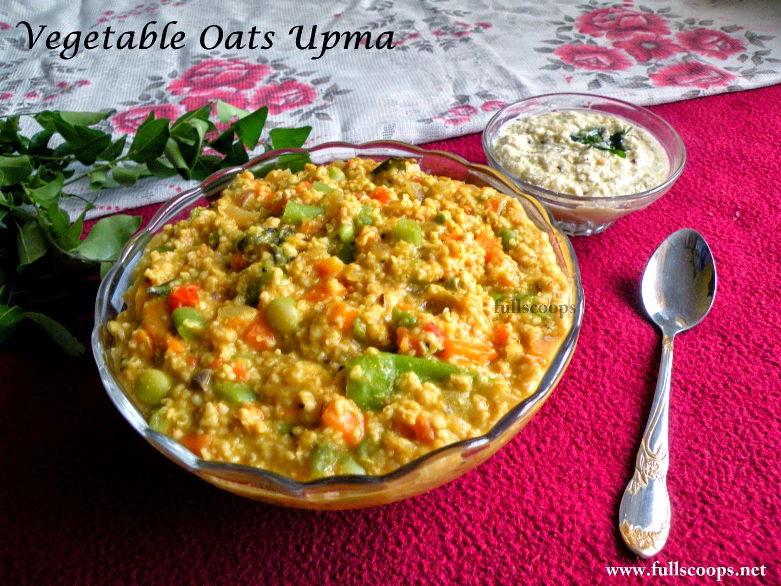 Vegetable Masala Oats