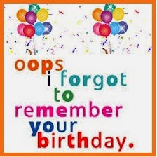 If You Have Forgotten Birthday Of Your Near And Dear Ones Then Shouldnt Waste Any More Time Just Send Heartfelt Wishes As Soon Possible