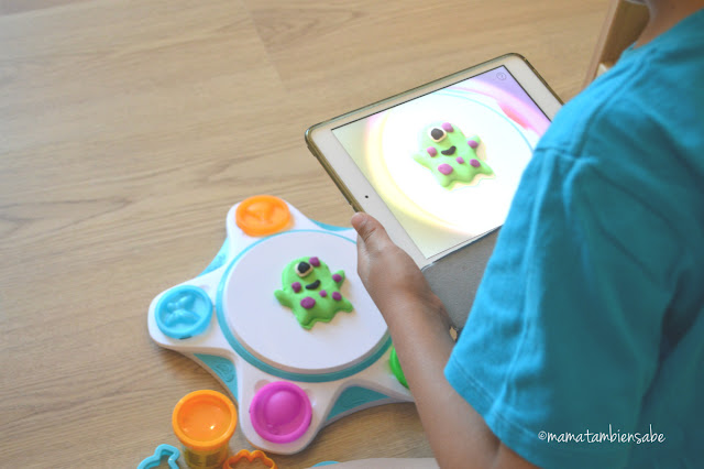 PlayDoh Touch scanning