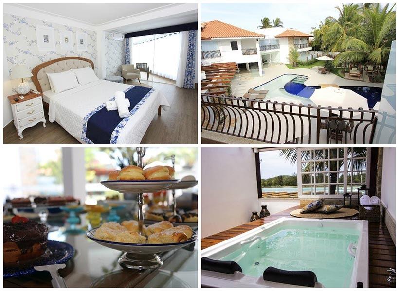 Hotéis em Cabo Frio - dica de onde se hospedar - Hotel Boutique Recanto da Passagem